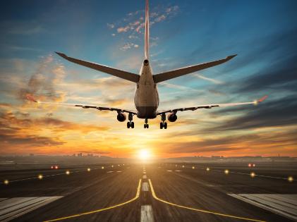 Luchthavenvervoer Oostende landen vliegtuig